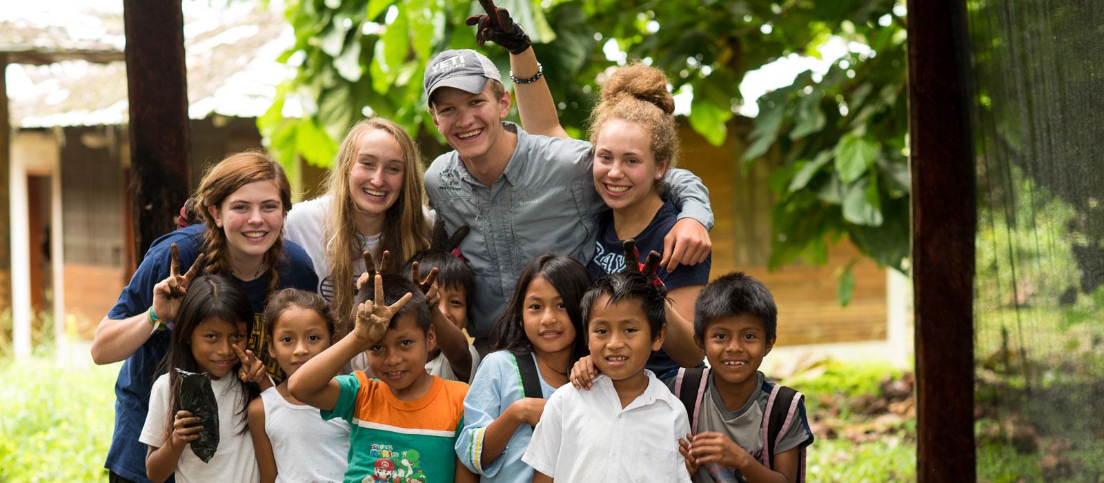 Ecuador Service Trip For Teens   Galapagos Volunteer Program