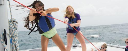 Sailing trip for high school teens