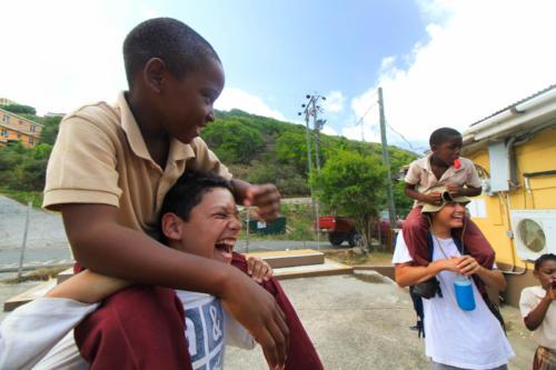 Teen international community service